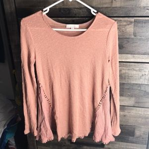Long sleeve stretchy